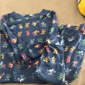Gap Mickey Mouse pajama set 18-24 months